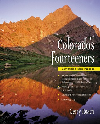 Colorado\'s Fourteeners Map Pack by Gerry Roach