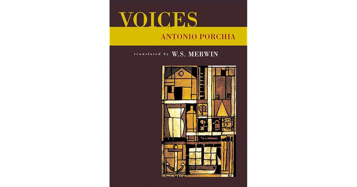 voices antonio porchia analysis