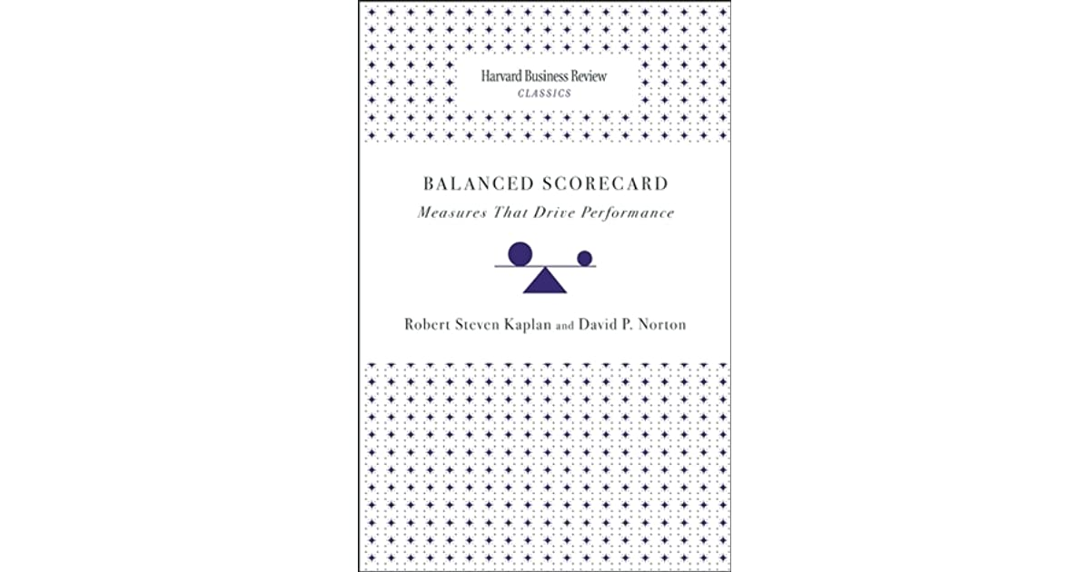 Balanced scorecard measures that drive performance by robert s kaplan fandeluxe Choice Image