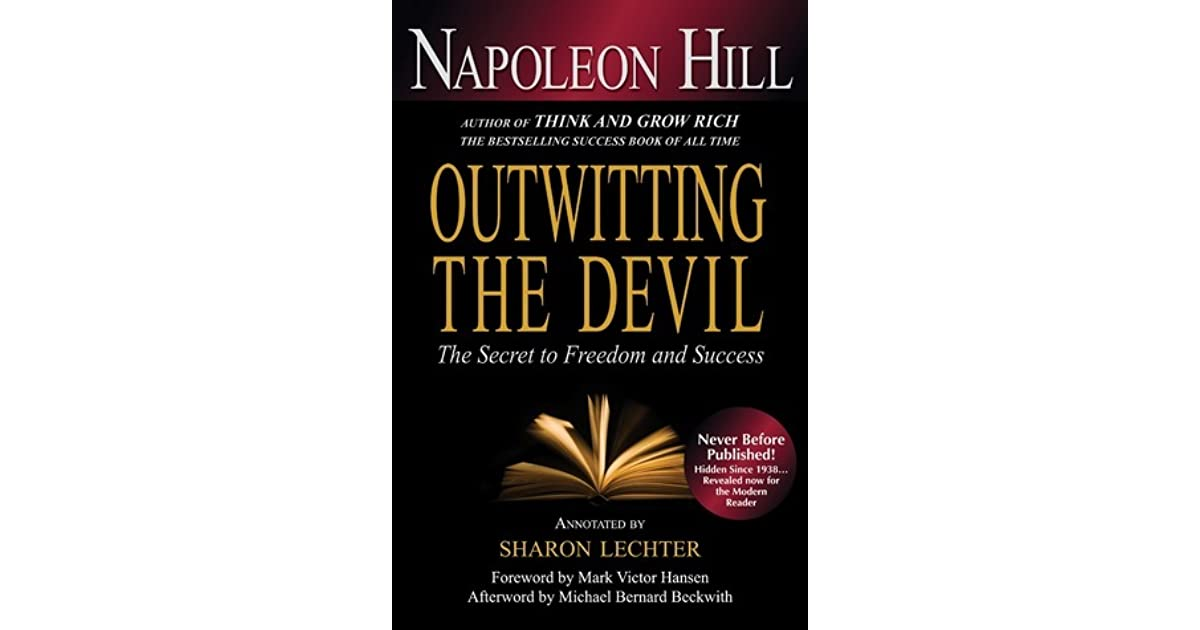 Outwitting The Devil Quotes Amazing Outwitting The Devil The Secret To Freedom And Success.