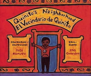 Quinito's Neighborhood cover art with link to Goodreads description