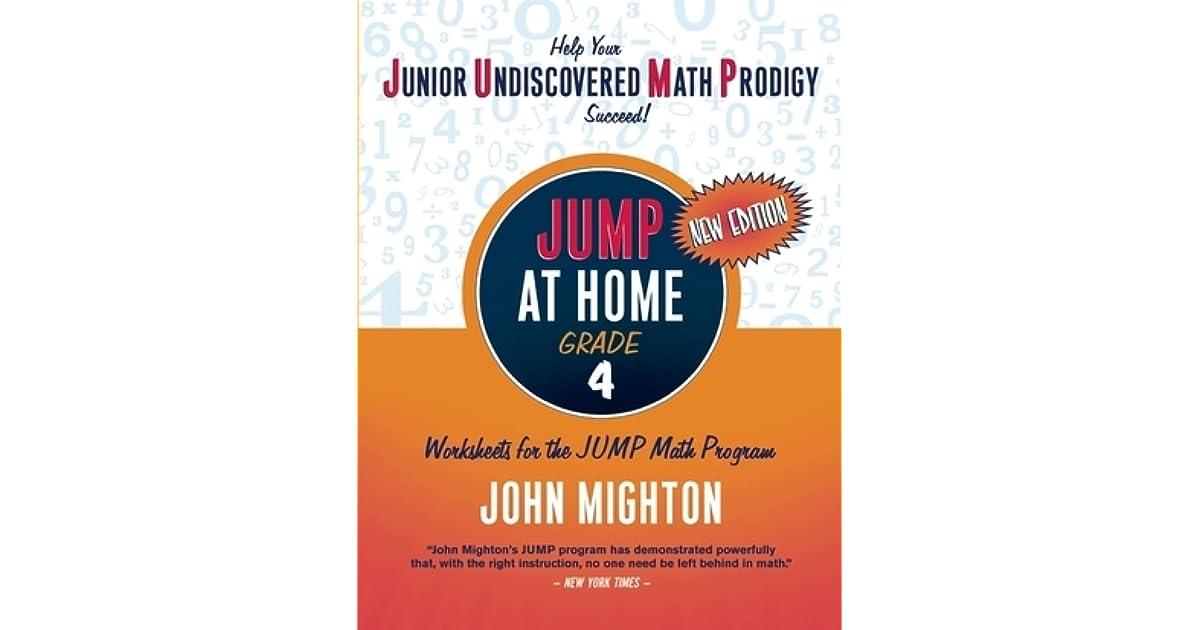 Jump at Home: Grade 4 by John Mighton