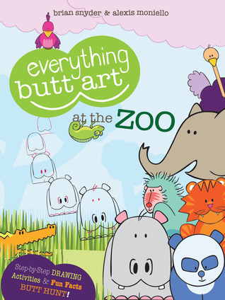 Everything-Butt-Art-at-the-Zoo-What-Can-You-Draw-with-a-Butt-