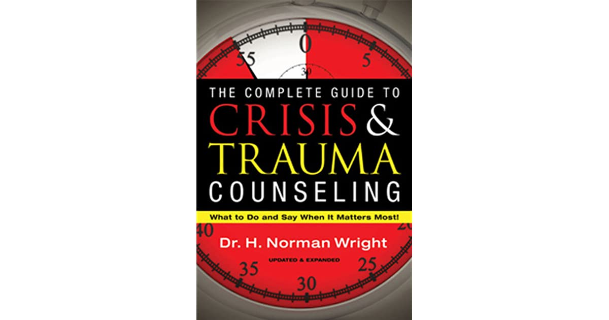 crisis and trauma counseling essay A solution-focused approach to crisis intervention with adolescents laura m hopson, mssw johnny s kim, msw summary the.