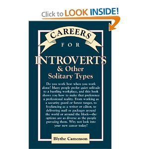Blythe Camenson  Careers for introverts and other