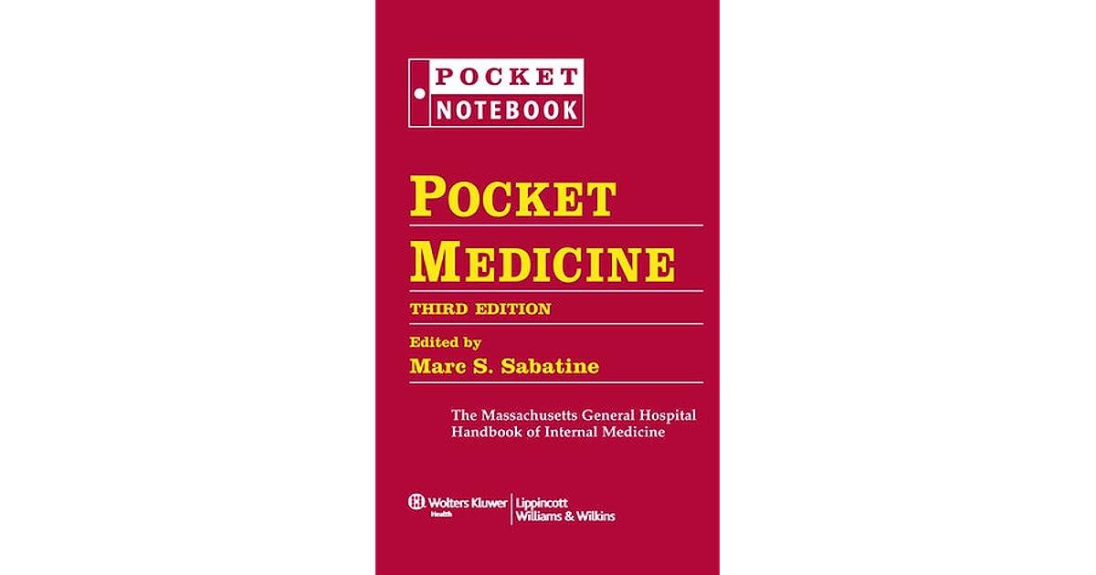 Pocket Medicine: The Massachusetts General Hospital Handbook