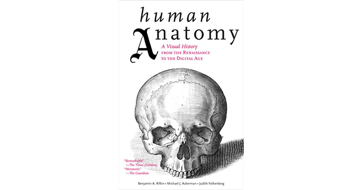 Human Anatomy A Visual History From The Renaissance To The Digital