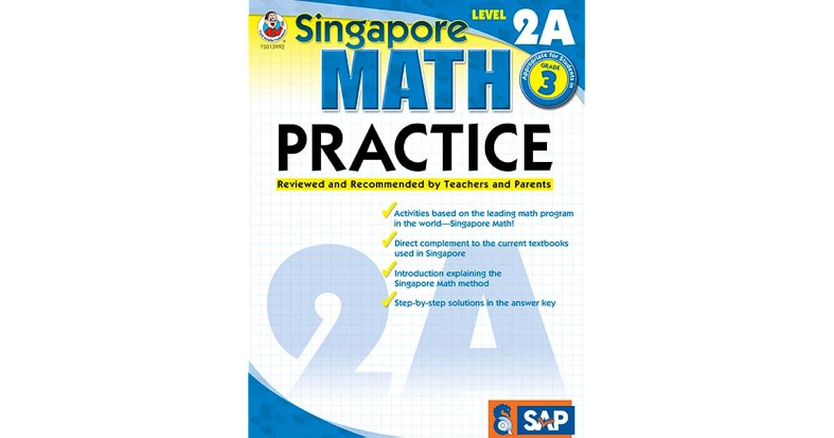 Singapore Math Practice, Level 2A, Grade 3 by Carson-Dellosa
