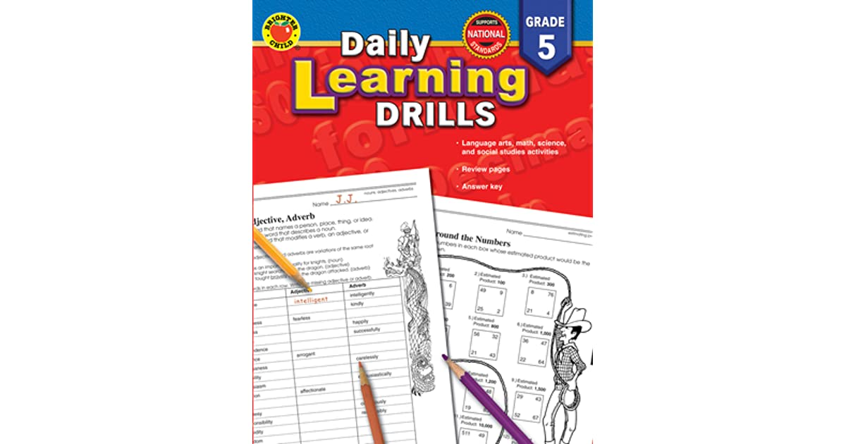 Daily Learning Drills, Grade 5 by Brighter Child
