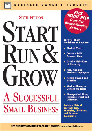 Start Run & Grow: A Successful Small Business