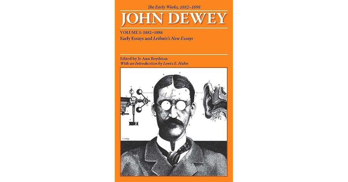 John dewey essay