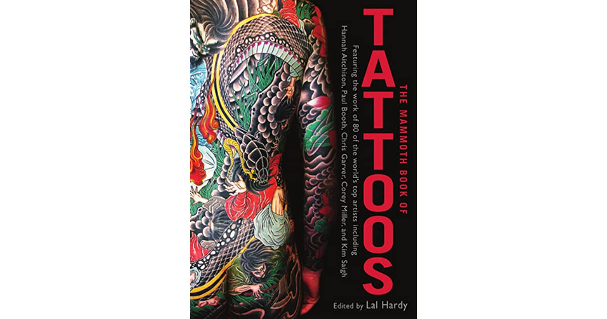 The mammoth book of tattoos by lal hardy for The mammoth book of tattoos