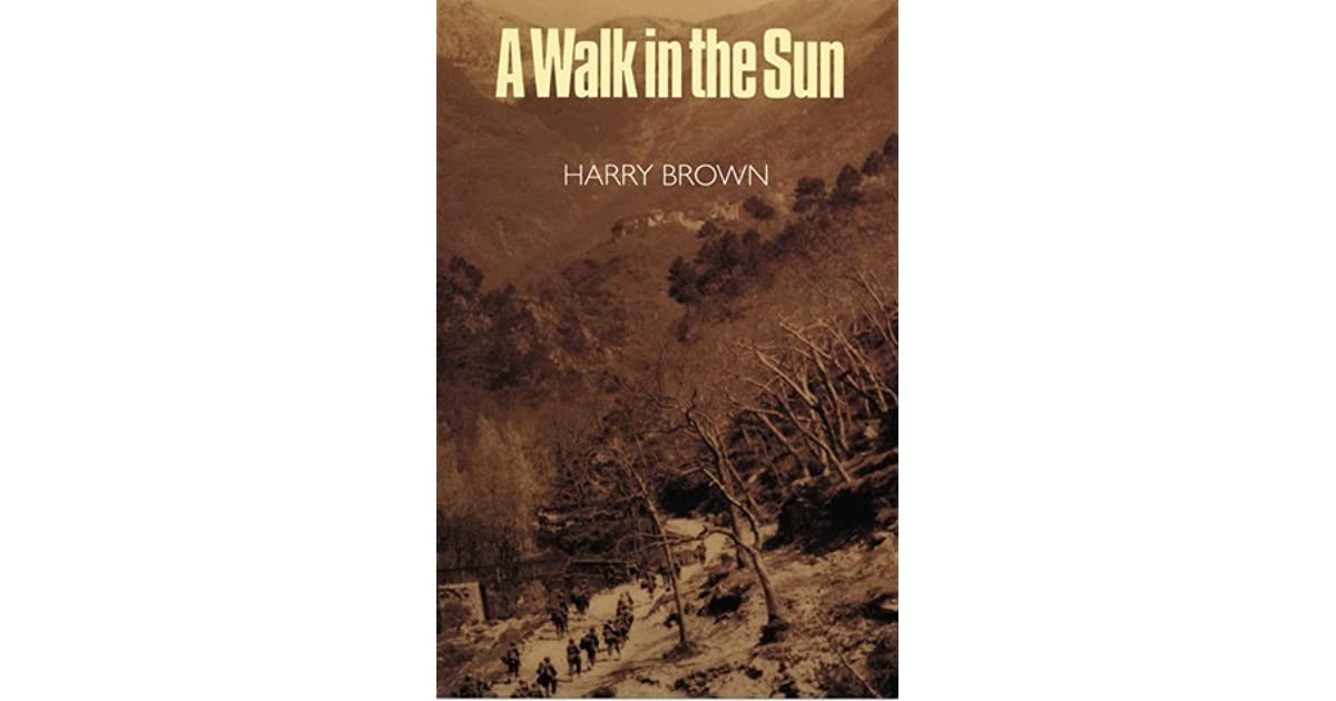 a walk in the sun by harry brown