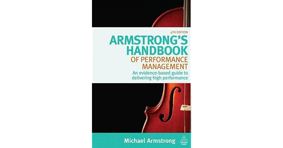Armstrong's Handbook of Performance Management (5th ed.)