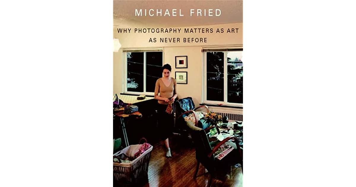 art and objecthood michael fried essay The book art and objecthood: essays and reviews, michael fried is published by university of chicago press.