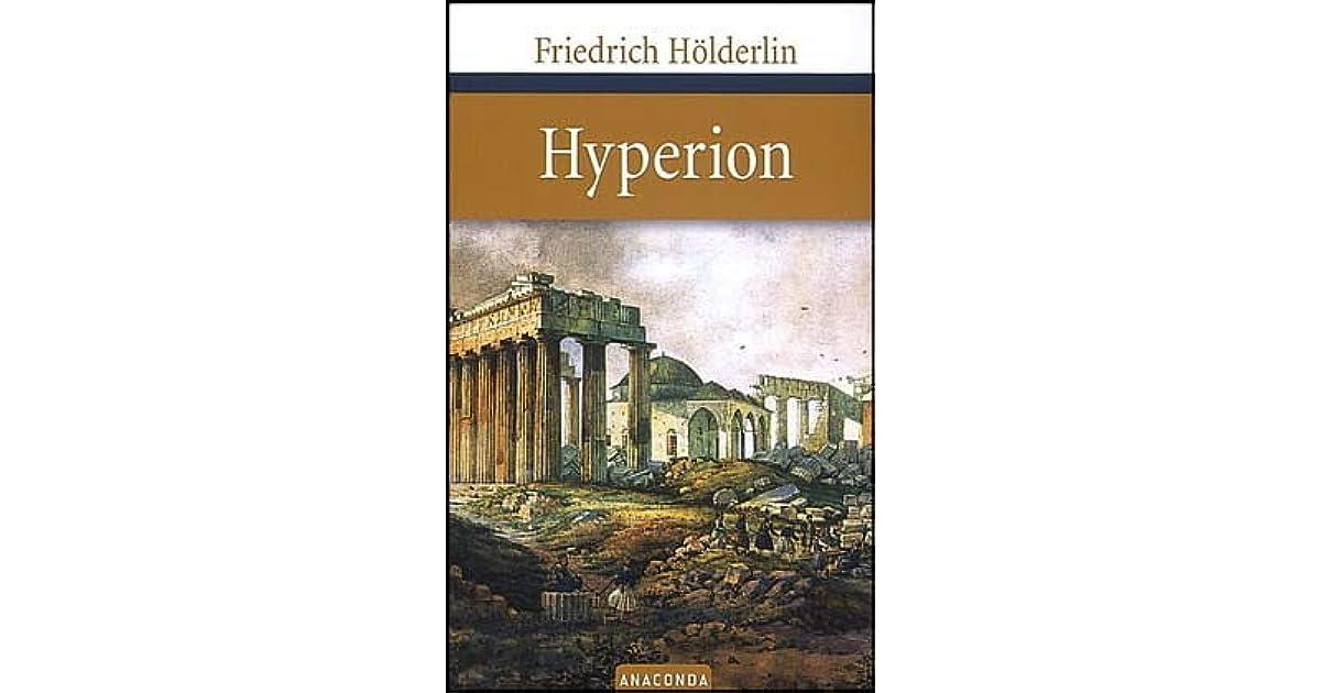 Hyperion oder Der Eremit in Griechenland by Friedrich Hölderlin
