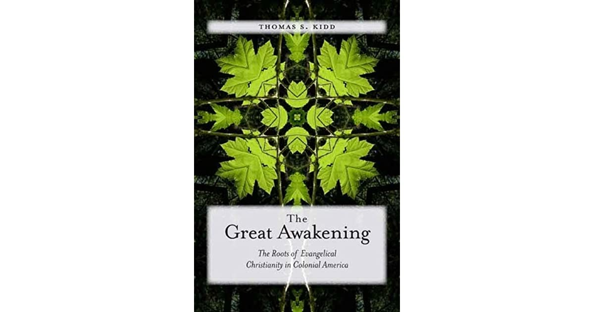 the great awakening saw the revival of religion in americas society