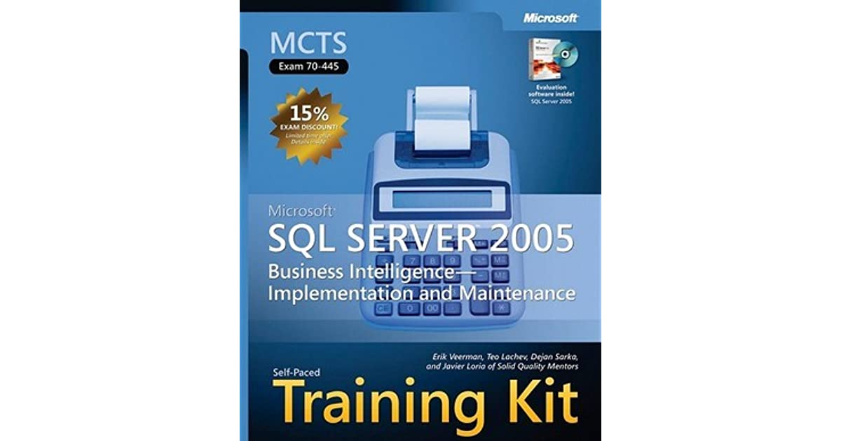 Mcts Sql Server 2008 Implementation And Maintenance Ebook