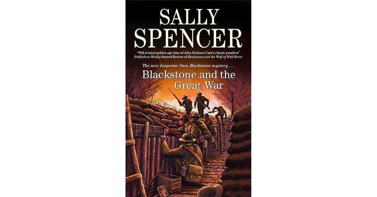 Publication Order of Inspector Blackstone Books