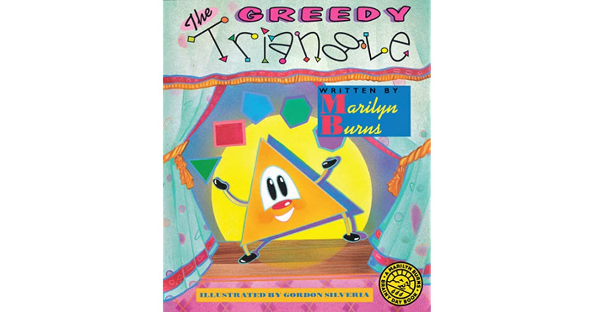 The greedy triangle by marilyn burns fandeluxe Image collections