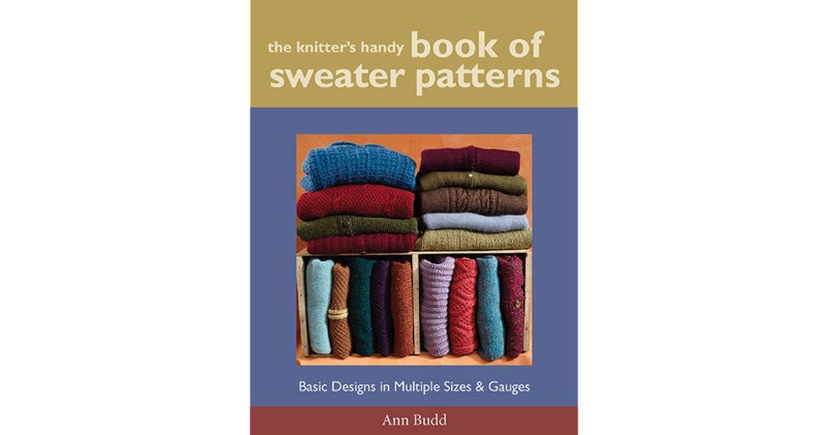 6c220e954825c The Knitter s Handy Book of Sweater Patterns by Ann Budd
