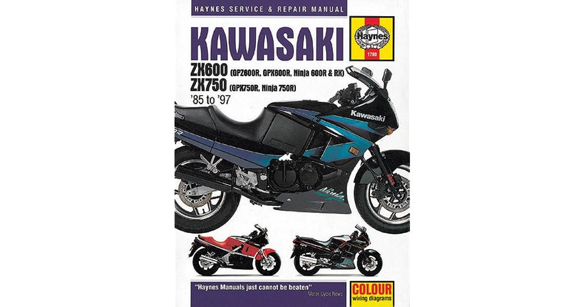 wiring diagram for 85 kawasaki ninja 6 kawasaki zx600  gpz600r  gpx600r  ninja 600r and rx  zx 750  kawasaki zx600  gpz600r  gpx600r  ninja
