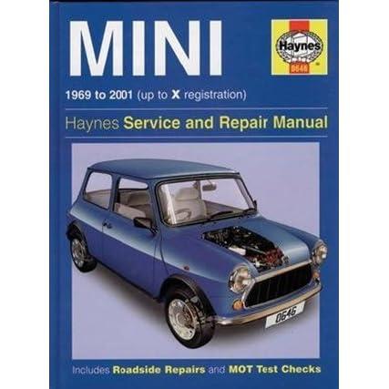 mini cooper auto repair manuals