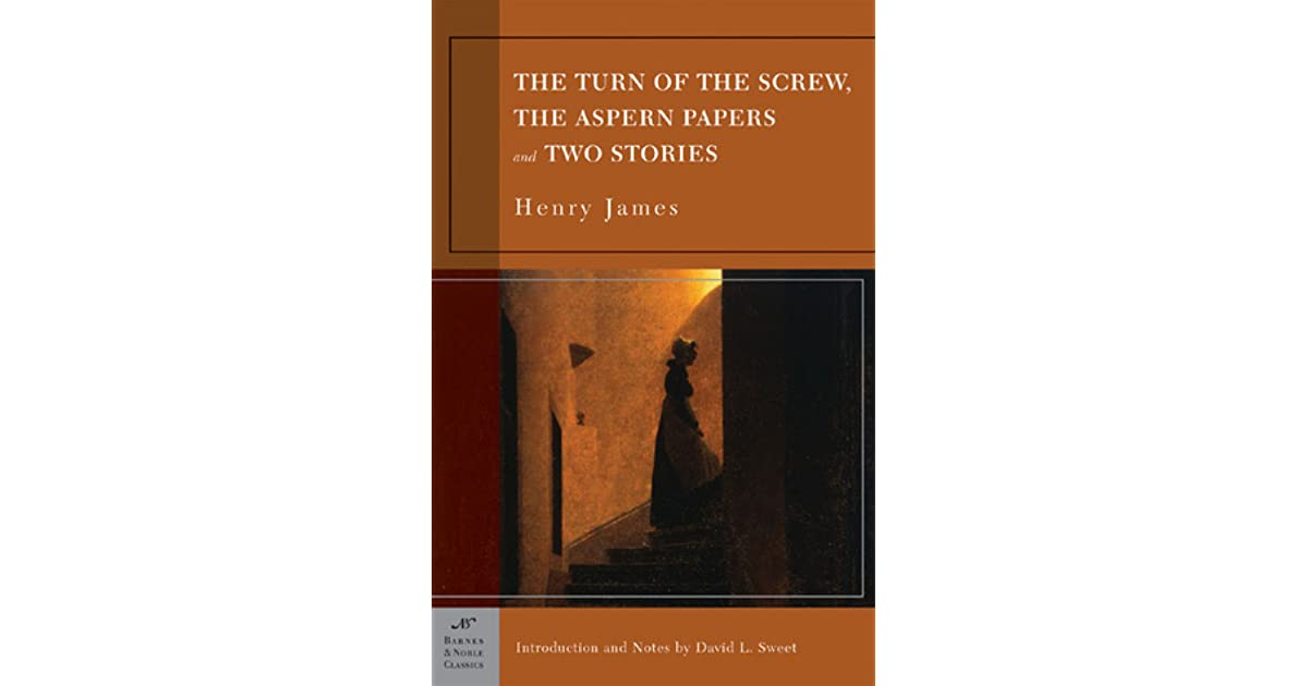 turn of the screw paper The turn of the screw henry james american novelist, short story writer, essayist, critic, biographer, autobiographer, and playwright the following entry presents criticism on james's novella.