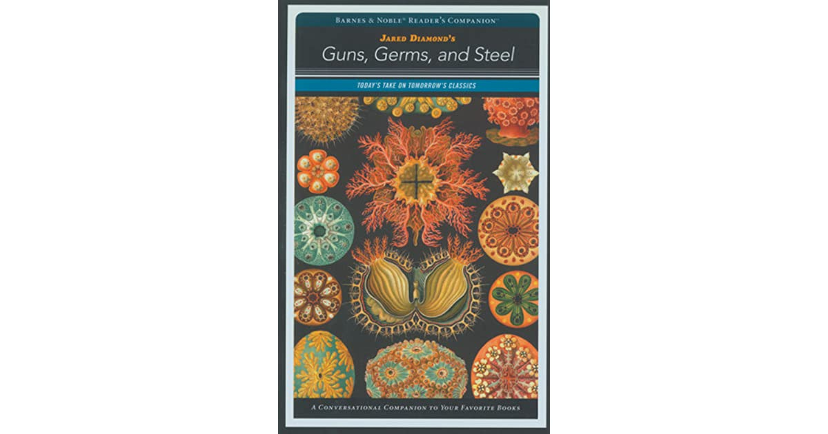 evaluation of jared diamond's guns germs A review of jared diamond's guns, germs and steel we publish below an expanded and slightly revised version of an earlier review of jared diamond's.