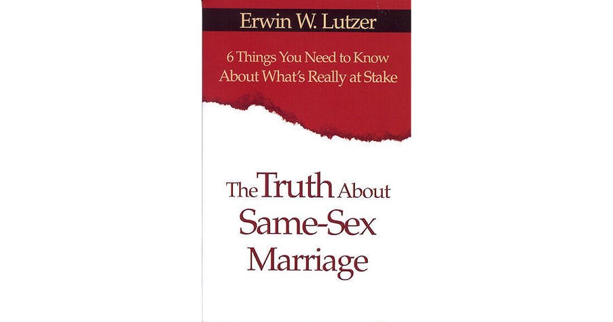 Erwin lutzer homosexuality