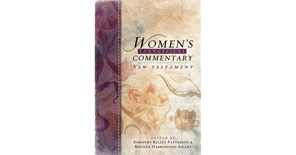 women s evangelical commentary old testament patterson dorothy kelley kelley rhonda