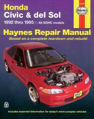 Honda Civic and Del Sol, 1992-1995