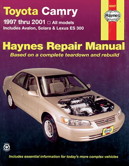 toyota camry and lexus es 300 automotive repair manual models rh goodreads com 97 Toyota Camry Engine Diagram 97 Toyota Camry Blue