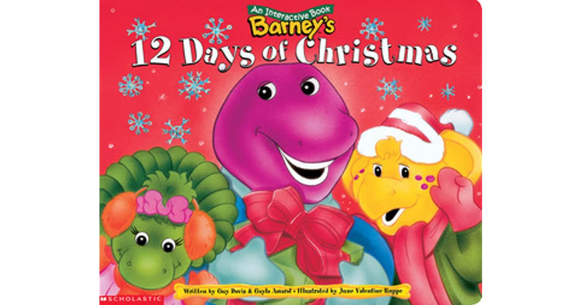 Barney\'s 12 Days Of Christmas by Guy Davis