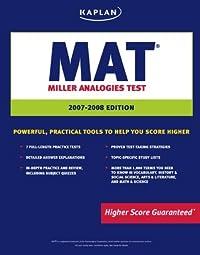 Kaplan MAT, 2007-2008 Edition: Miller Analogies Test (Kaplan Mat)