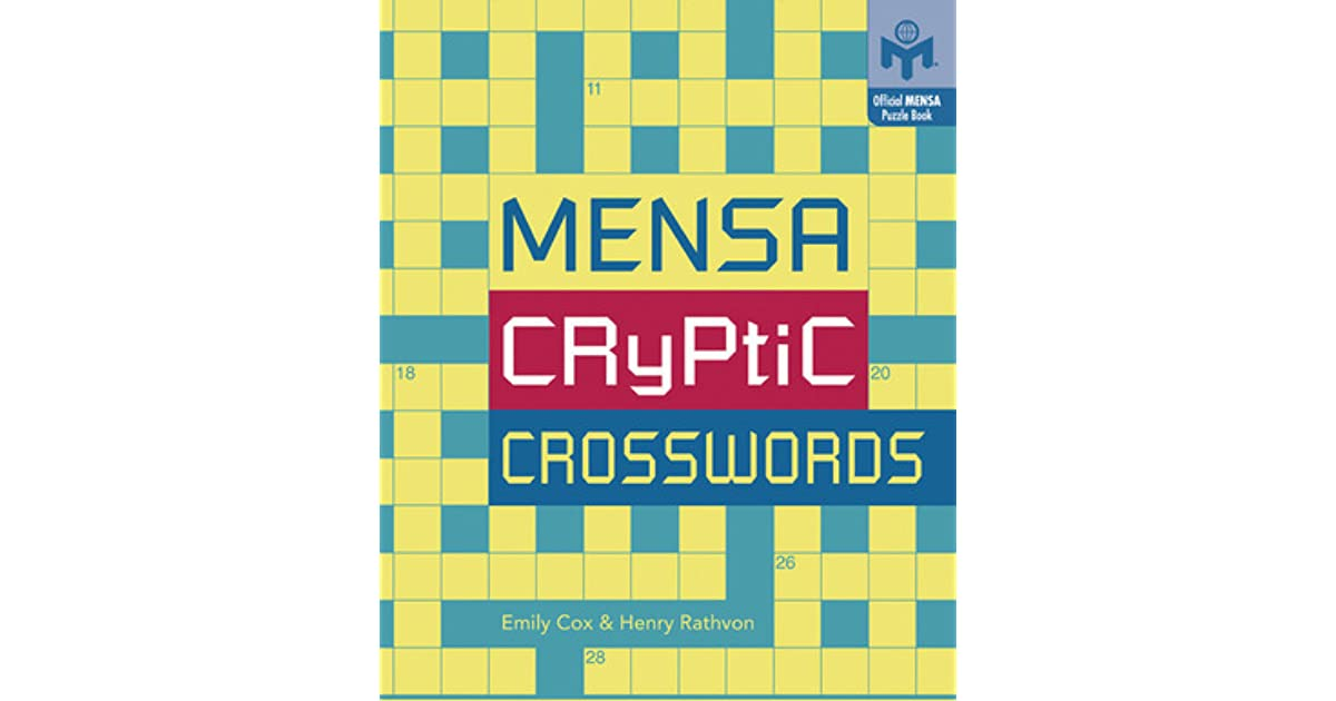 Cryptic Crosswords By Emily Cox