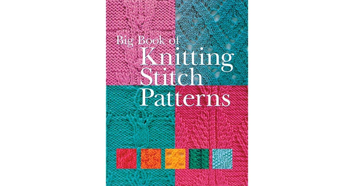 Big Book of Knitting Stitch Patterns by Sterling Publishing