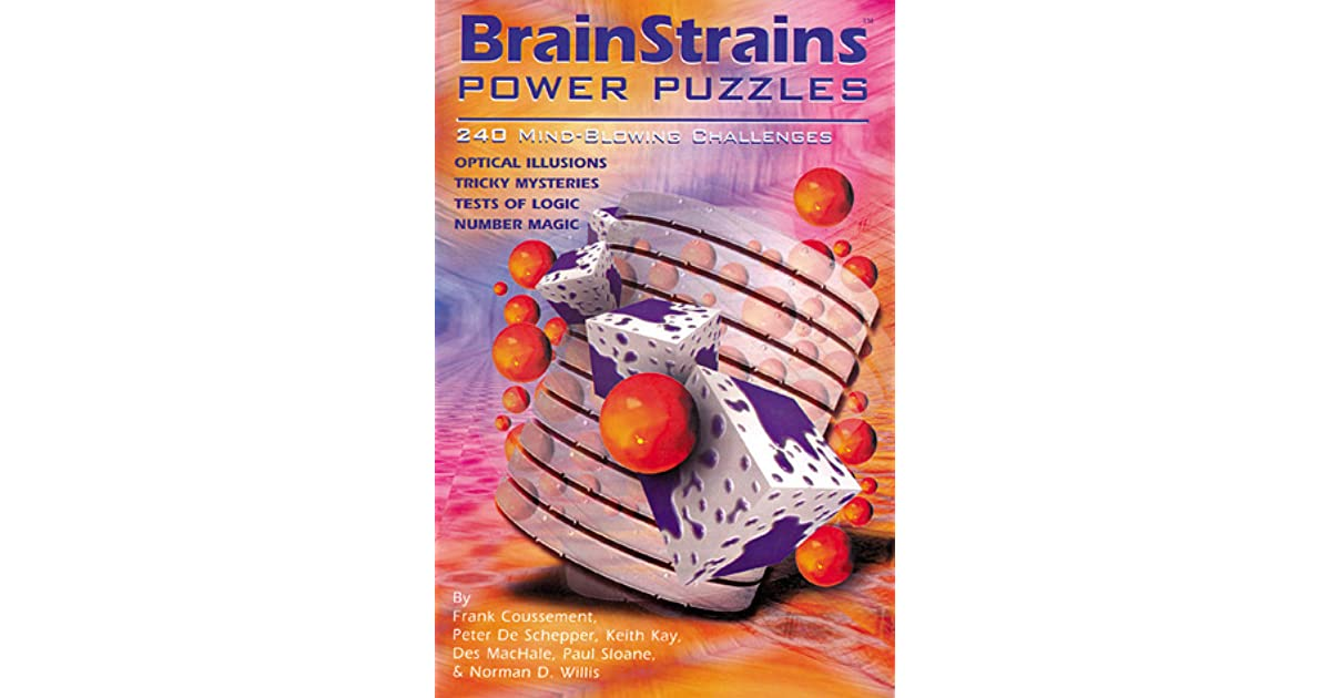 Brainstrains Power Puzzles 240 Mind Blowing Challenges By Frank
