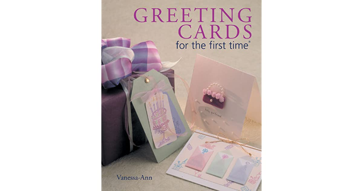 Greeting cards for the first time by vanessa ann m4hsunfo