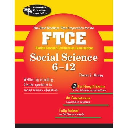 ftce social science 6 12 by thomas e murray rh goodreads com AP Environmental Science Study Guide AP Computer Science Study Guide