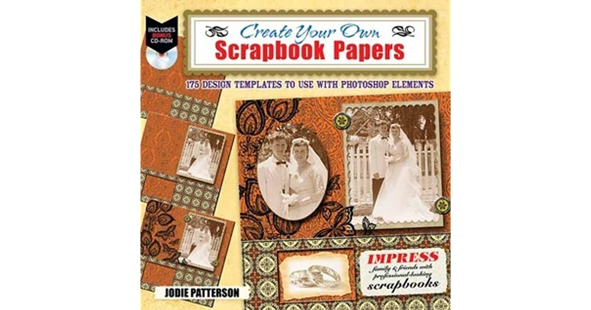 Create Your Own Printable Scrapbook Papers 135 Vintage Designs For