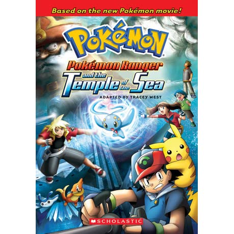 Pokemon Ranger And The Temple Of The Sea By Tracey West