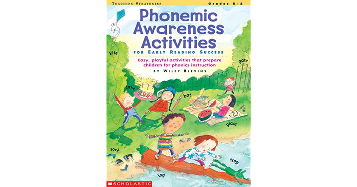 Phonemic Awareness Activities For Early Reading Success Easy