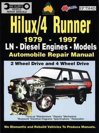 jeep repair diagrams toyota hilux 4 runner diesel 1979 1997 auto repair manual ln  toyota hilux 4 runner diesel 1979 1997