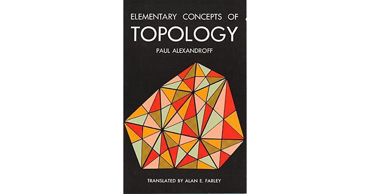Elementary Concepts in Topology
