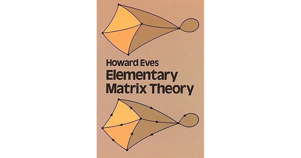 Elementary matrix