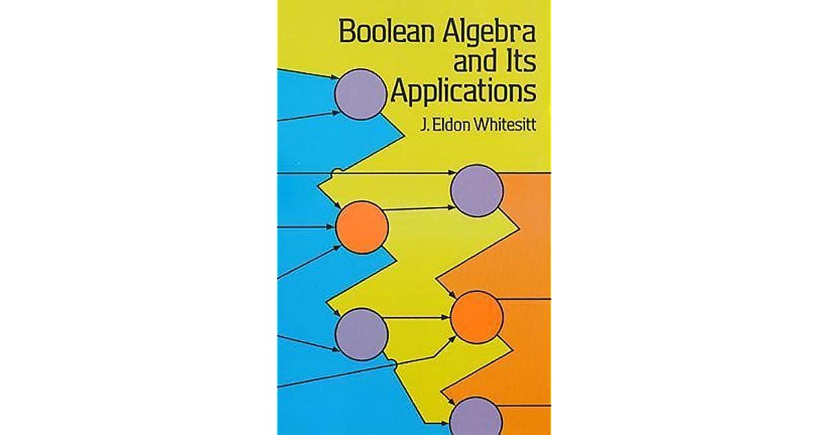 boolean algebra and its applications by j eldon whitesitt pdf
