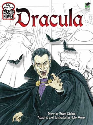 Dracula (Color Your Own Graphic Novel)