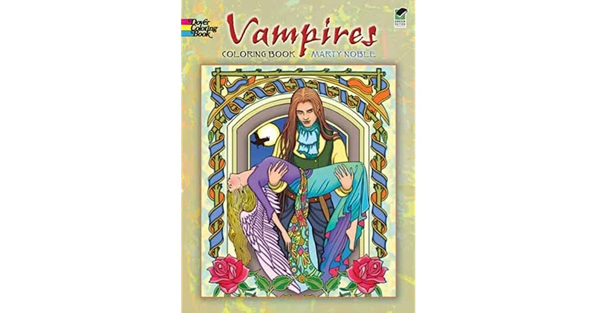 Vampires Coloring Book By Marty Noble