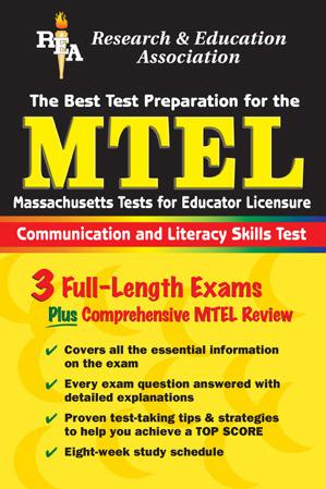 MTEL Communication Literacy Skills (REA) The Best Test Prep